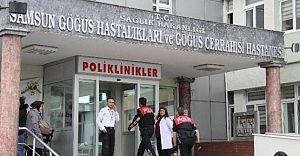 Samsun Göğüs Hastalıkları Hastanesi Doktoruna Silahlı Saldırı!