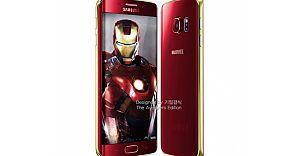 Samsung  Iron Man Temalı Galaxy S6 Edge'yi Çıkardı