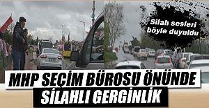 Sarıyer'de MHP' Seçim Ofisine Silahlı Saldırı