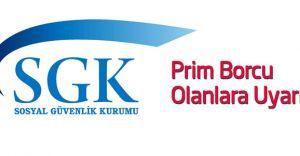 SGK Prim Borcu Olanlar DİKKAT! 3 Temmuz Son Gün