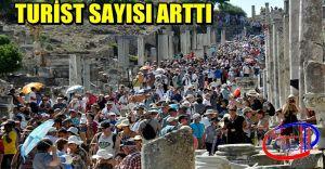 Türkiye'ye Gelen TURİST Sayısı Arttı!