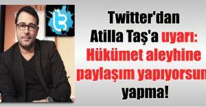 Atilla Taş'ın SHOW'U Twitter'a Sökmedi!