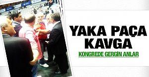 (VİDEO HABER) Beşiktaş Mali Kongresinde Olay!
