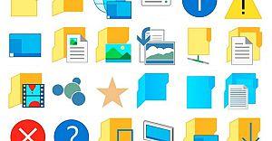 Windows 10 Yeniliğe Gitti!  Yeni İkon ve Tasarım