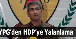 YPG Liderinden HDP'ye Yalanlama