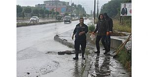 Zonguldak'ta Sağanak Yağış Hayatı Felç Etti!