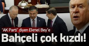 Bahçeli'den Ekmeleddin'e Sert Fırça! AKP İle Asla!