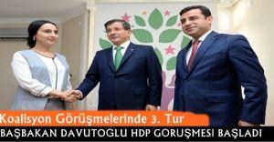 Başbakan Ahmet Davutoğlu HDP İle Bir Araya Geldi!