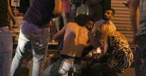 İstiklal Caddesinde Silahlı Çatışma Çok Sayıda Yaralı Var
