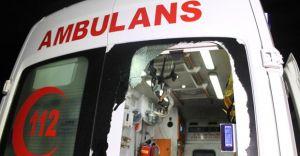 Mardin'de Ambulanslara Saldırı