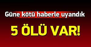 Akseki'de Katliam Gibi Kaza! Çok Sayıda Ölü Var
