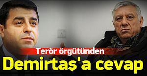 Demirtaş'ın Ama'sın Silah Bırakma Çağrısına Bayık'tan REST Geldi!