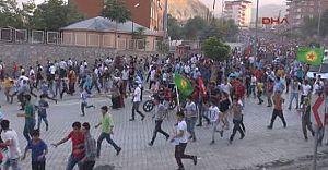 Hakkari'de Öldürülen PKK Hakkari Sorumlusunun Cenazesinde Olay!