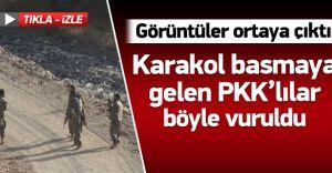 Karakol Basmaya Gelen PKK'lılar Böyle Öldürüldü! (VİDEO HABER)