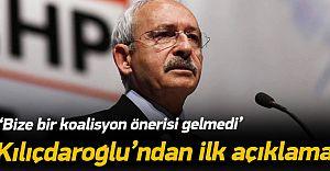 Kılıçdaroğlu'ndan Kritik Görüşme Sonrası İlk Açıklama Geldi!