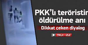 PKK'lıların Vurulma Anları Kameralarda! İşte O Anlar!