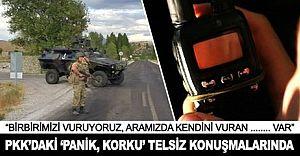PKK'da Büyük Panik! Operasyonlar Sırasında Telsizlere Korkunç Konuşmalar Geçti