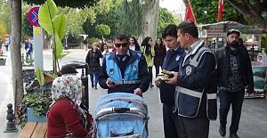 Polis ve Zabıta Ekiplerinden Dilencilere Baskın