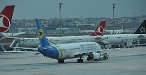 Ukrayna Uçağında Bomba Alarmı Üstüne Yolcular İndirildi