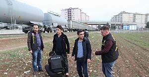 Diyarbakır Polisinden Hava Destekli Asayiş Uygulaması