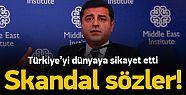 ABD'ye Çağrılan Demirtaş, Türkiye'yi Şikayet Etti!