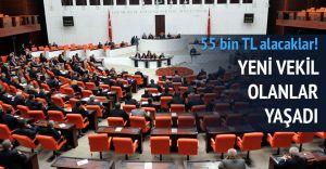 Adaletsizlik!! Yeni Seçilen Mebus'lar 55 Bin Tl Maaş Alacaklar
