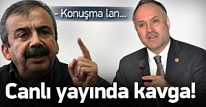 Ak Partili Gedik ile Sırrı Süreyya Önder Canlı Yayında Kavga Etti!