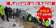 Ankara Kırşehir Yolunda Katliam Gibi Kaza! 9 Ölü 17 Yaralı