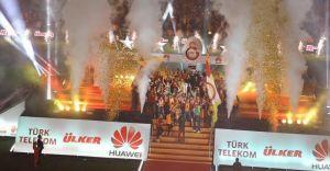 Arena'da Büyük Şölen! Galatasaray Şampiyon!