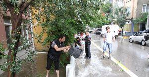 Balıkesir Yağışa Teslim! Metrekareye 61,6 Kg Yağış Düştü