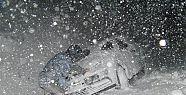 Balıkesir'de Yoğun Kar Yağışı!