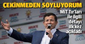 Başbakan Davutoğlu Devlet Sırrını İfşaa Etti.İşte O Sözler!