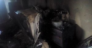 Bolu'da Patlayan Buzdolabı Yangına Neden Oldu!