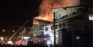 Bolu'da Tabakhane Yangını! 3 Tabakhane Yandı!