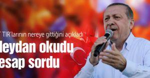 Cumhurbaşkanı Erdoğan 2 Milyon Kişiye Seslendi Mit Tırları İçin de Hesap Verecekler Dedi