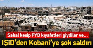 DEAŞ, İntihar Eylemiyle Kobani'ye Geri Döndü! 12 Ölü