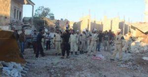 Esad Halkının Üzerine Bomba Yağdırdı 17 Ölü 30 Yaralı!
