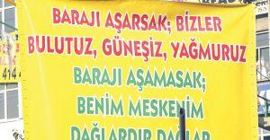 HDP Doğuda Tehditin Sınırlarını Aştı: Baraj Aşılmazsa DAĞLAR VAR!