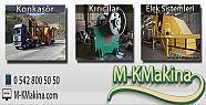 Kırma Eleme Tesisi Sektörün de Kalite MK Makina