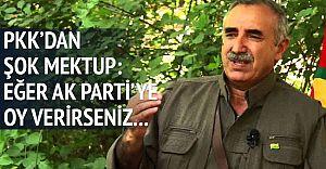PKK'dan Halka Şok Tehdit: Ak Partiye Oy Verirseniz...!
