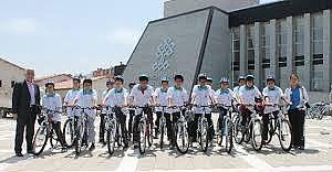 Sağlıklı Yaşam İçin 180 Bisiklet Dağıtıldı!