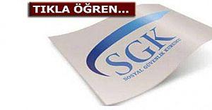 SSK Borç Sorgulama ekranı,SSK Prim ve TC Kimlik No İle SGK Hizmet Dökümü