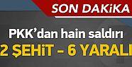 Sur'da Kalleş Saldırı! Hainler Yine Yola Bomba Döşedi!