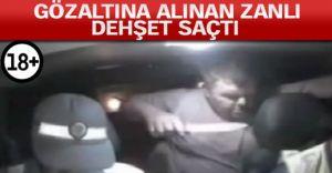 (video) Alkollü Sürücü Polisleri Defalarca Bıçakladı