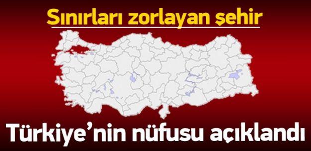 TÜİK Türkiye'nin Nüfusunu Açıkladı! İşte Şok Edici Çarpıcı İller!