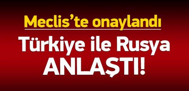 Türkiye İle Rusya Anlaştı!