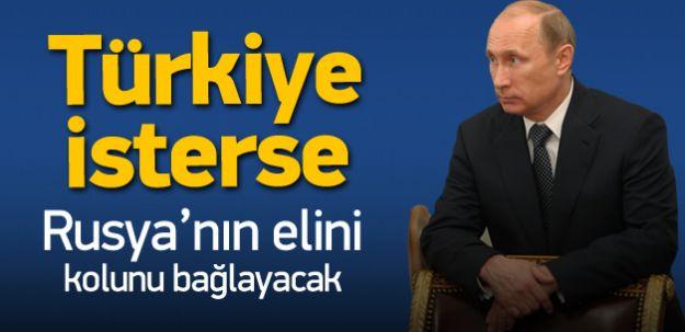 Türkiye İsterse Rusya'nın Elini Kolunu Bağlar! İşte o KOZ'lar!