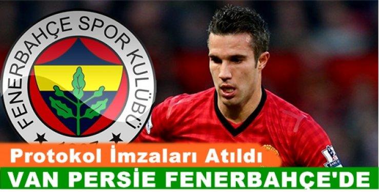 Uçan Hollanda'lı RVP (Van Persie) Fenerbahçe'de...