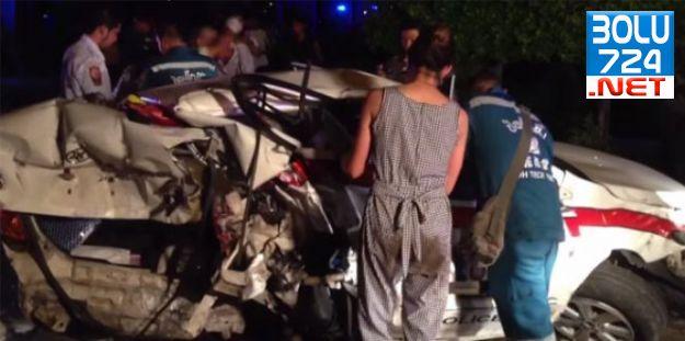 Ünlü Oyuncu Gece Polis Aracına Çarptı Bir Polis Hayatını Kaybetti