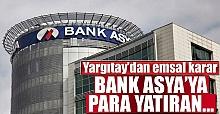 Yargıtay Bank Asya'ya Para Yatıranlar Hakkında Karar Aldı